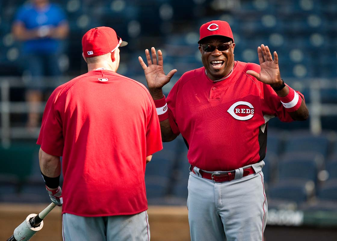 20090612_MLB_Baseball_Reds_Royals_Dusty_Baker
