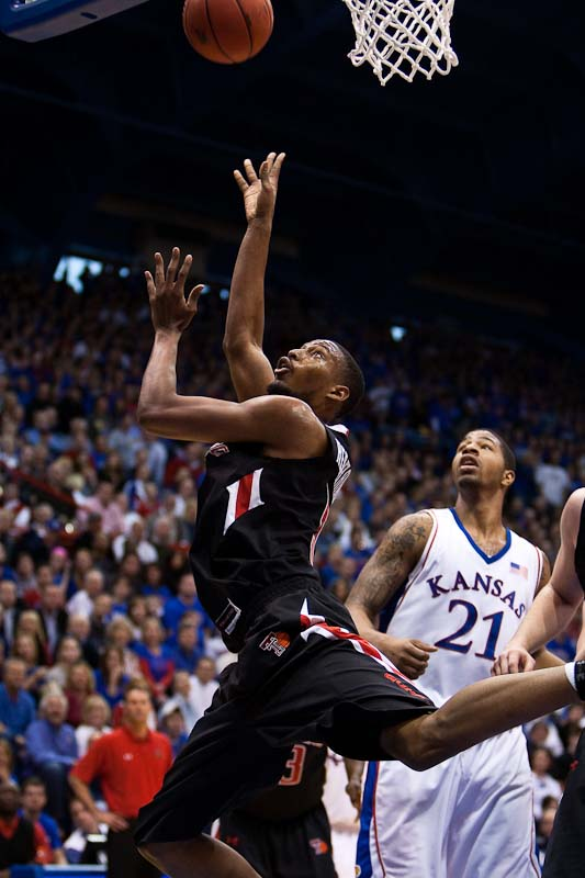 20100116_NCAA_Basketball_Texas_Tech_Kansas_John_Roberson