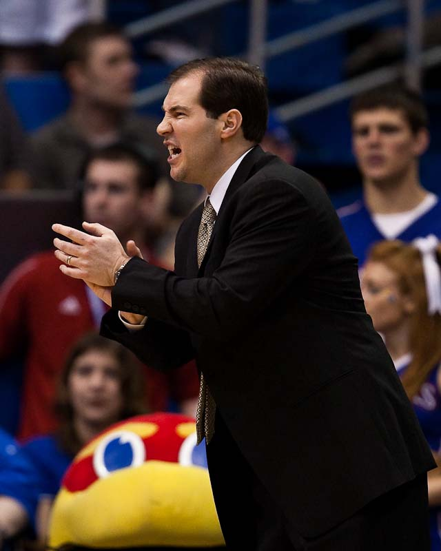 20100120_NCAA_Basketball_Baylor_Kansas_Scott_Drew