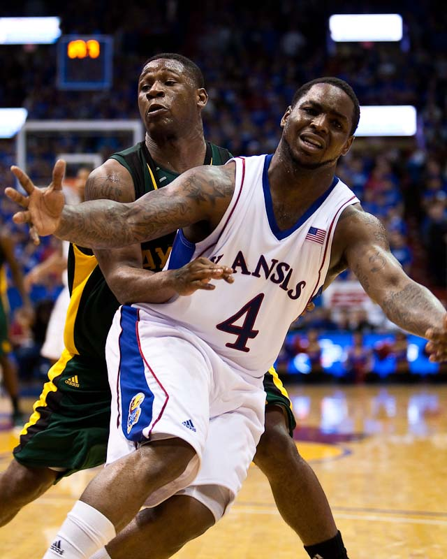 20100120_NCAA_Basketball_Baylor_Kansas_Sherron_Collins