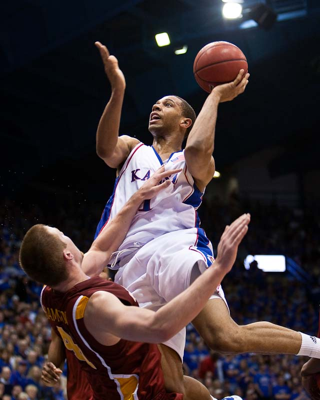 20100213_NCAA_Basketball_Iowa_State_Kansas_Xavier_Henry_2